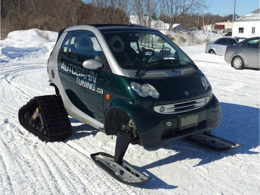 Mechanic Builds Perfect Winter Smart Mobile The Center News
